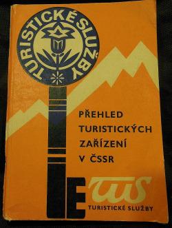 Přehled turistických zařízení v ČSSR obálka knihy