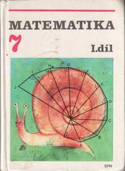 Matematika pro 7. ročník základní školy, I. díl obálka knihy