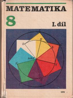 Matematika pro 8. ročník základní školy, I. díl obálka knihy