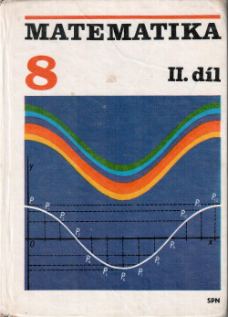 Matematika pro 8. ročník základní školy, II. díl obálka knihy