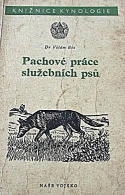 Pachové práce služebních psů obálka knihy