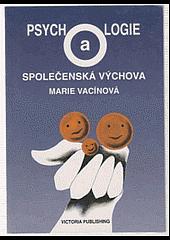 Psychologie a společenská výchova obálka knihy