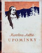 Upomínky obálka knihy