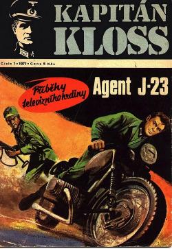 Agent J-23 obálka knihy