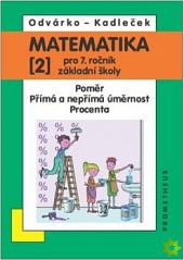 Matematika pro 7.ročník základní školy 2.díl obálka knihy