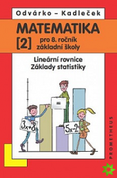 Matematika pro 8.ročník základní školy 2.díl obálka knihy
