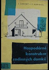 Hospodárné konstrukce rodinných domků obálka knihy