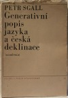 Generativní popis jazyka a česká deklinace