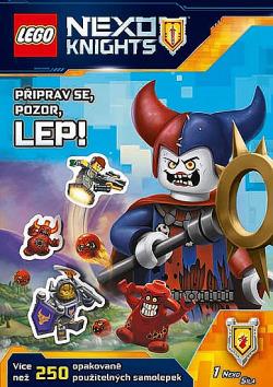 LEGO® NEXO KNIGHTS™ - Připrav se, pozor, lep!