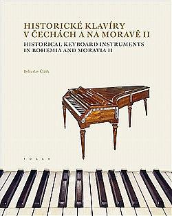 Historické klavíry v Čechách a na Moravě II obálka knihy