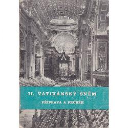 II. vatikánský sněm : příprava a průběh obálka knihy