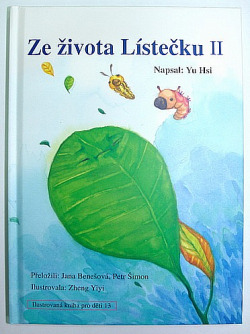 Ze života lístečku II obálka knihy