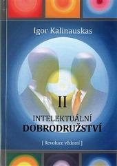 Intelektuální dobrodružství II (revoluce vědomí) obálka knihy