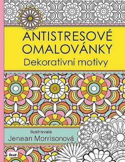 Antistresové omalovánky: Dekorativní motivy obálka knihy