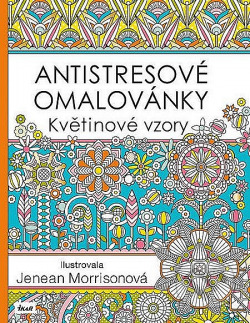 Antistresové omalovánky: Květinové vzory obálka knihy