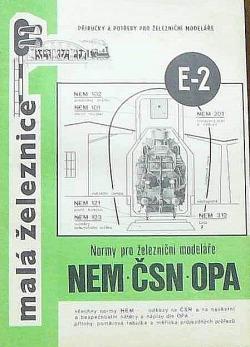 Normy pro železniční modeláře obálka knihy