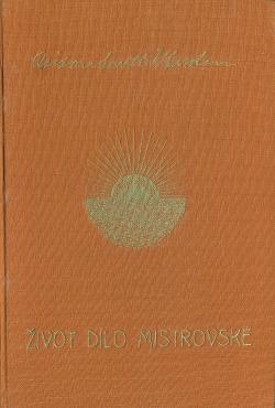 Život dílo mistrovské obálka knihy