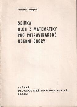 Sbírka úloh z matematiky pro potravinářské učební obory obálka knihy
