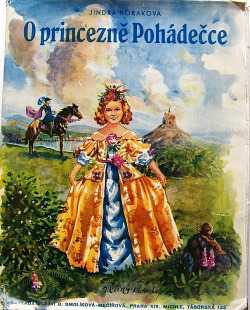 O princezně Pohádečce obálka knihy