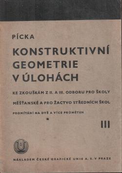 Konstruktivní geometrie v úlohách