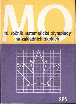 40. ročník matematické olympiády na základních školách obálka knihy