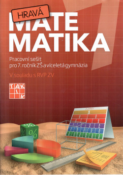 Hravá matematika 7: Pracovní sešit pro 7. ročník ZŠ obálka knihy