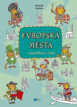 Evropská města obálka knihy