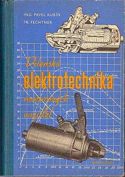 Dílenská elektrotechnika motorových vozidel obálka knihy