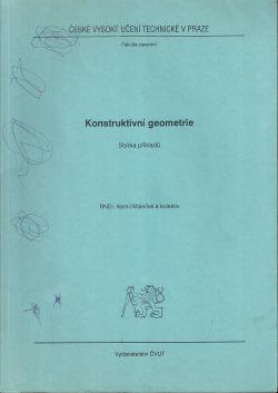 Konstruktivní geometrie obálka knihy