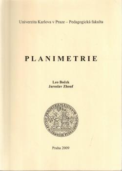Planimetrie obálka knihy