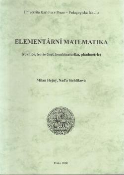 Elementární matematika obálka knihy