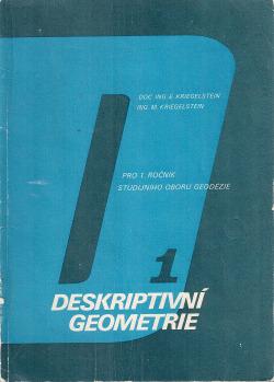 Deskriptivní geometrie I obálka knihy