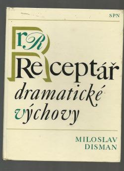 Receptář dramatické výchovy obálka knihy