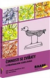 Činnosti se zvířaty v předškolním vzdělávání obálka knihy