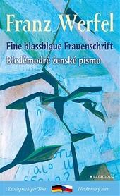 Bleděmodré ženské písmo / Blassblaue Frauenschrift obálka knihy