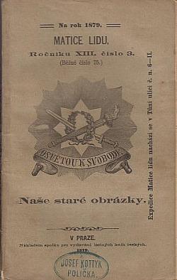 Naše staré obrázky obálka knihy