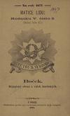 Boček - dějepisný obrázek z válek husitských