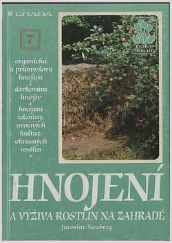 Hnojení a výživa rostlin na zahradě obálka knihy