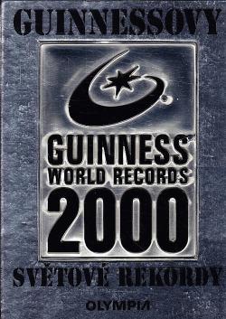 Guinnessovy světové rekordy 2000 obálka knihy
