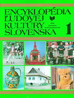 Encyklopédia ľudovej kultúry Slovenska 1 obálka knihy