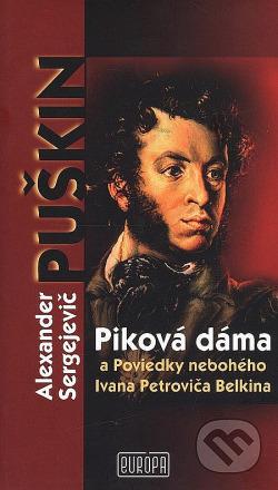 Piková dáma    a Poviedky nebohého Ivana Petroviča Belkina obálka knihy