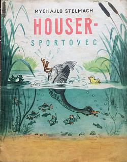Houser - sportovec obálka knihy