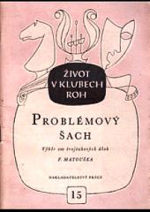 Problémový šach obálka knihy