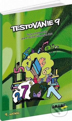 Testovanie 9 - 9. ročník    Testy z matematiky obálka knihy