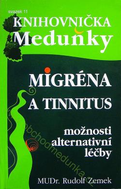 Migrena a tinnitus obálka knihy
