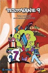 Testovanie 9 - 8. ročník    Testy z matematiky obálka knihy