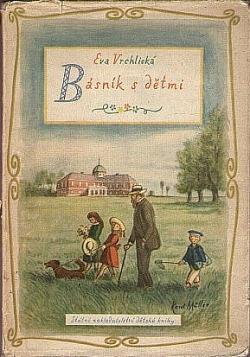 Básník s dětmi obálka knihy