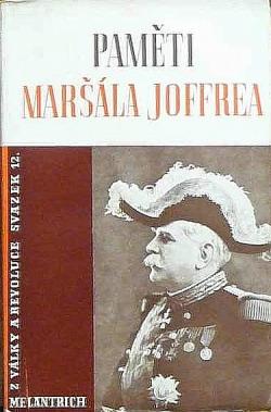 Paměti maršála Joffrea I. obálka knihy