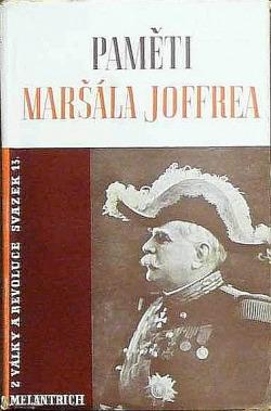 Paměti maršála Joffrea II. obálka knihy