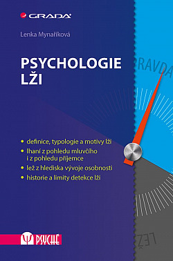 Psychologie lži obálka knihy